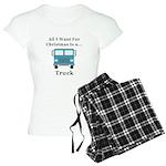 Christmas Truck Women's Light Pajamas