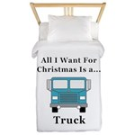 Christmas Truck Twin Duvet
