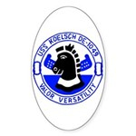 USS Koelsch (DE 1049) Oval Sticker
