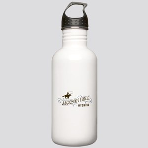 Jackson Hole Cowboy Stainless Water Bottle 1.0L