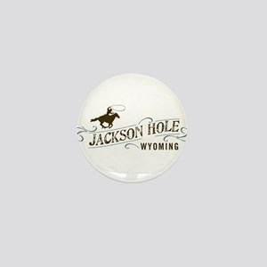 Jackson Hole Cowboy Mini Button