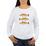 Redfish Red Drum Long Sleeve T-Shirt