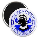 """USS Koelsch (DE 1049) 2.25"""" Magnet (100 pack)"""
