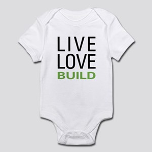 Live Love Build Infant Bodysuit