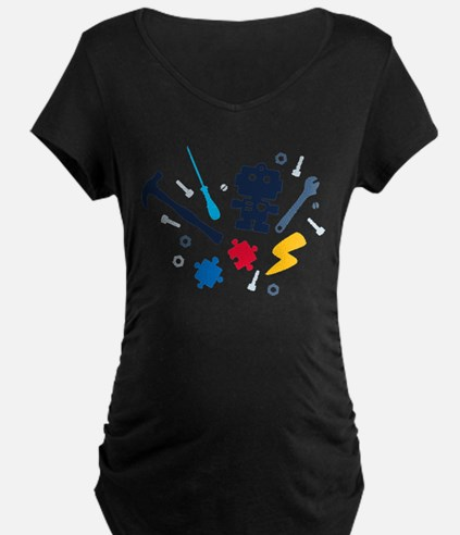Young Engineer - jeans Maternity T-Shirt