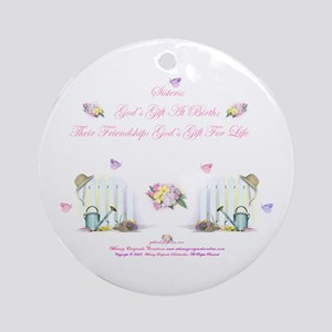 Sisters 3A Ornament (Round)
