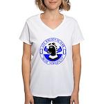 USS Koelsch (DE 1049) Women's V-Neck T-Shirt