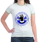 USS Koelsch (DE 1049) Jr. Ringer T-Shirt