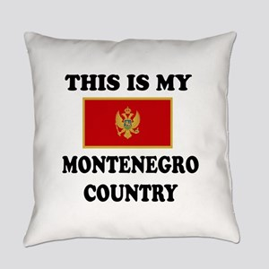 This Is My Montenegro Country Everyday Pillow