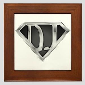 Super DJ(metal) Framed Tile