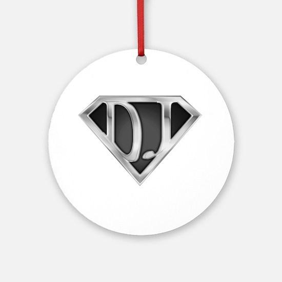 Super DJ(metal) Ornament (Round)