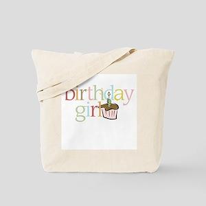 BDay Girl Cupcake - Tote Bag