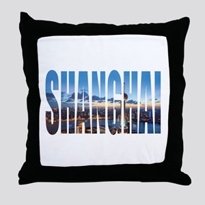 Shanghai Throw Pillow