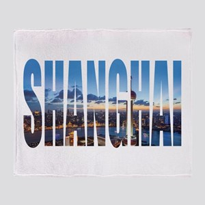 Shanghai Throw Blanket