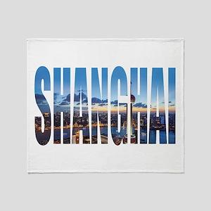 Shanghai Throw Blanket