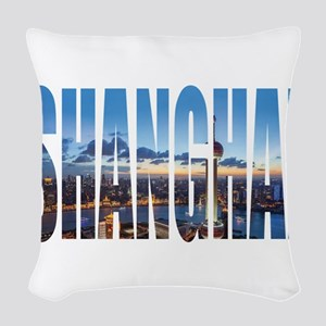 Shanghai Woven Throw Pillow