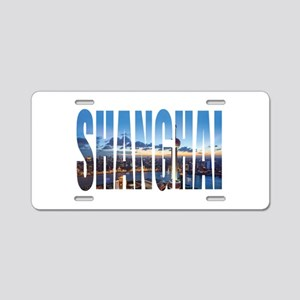 Shanghai Aluminum License Plate