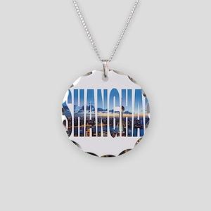 Shanghai Necklace Circle Charm