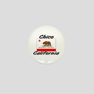 Chico California Mini Button