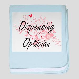 Dispensing Optician Artistic Job Desi baby blanket