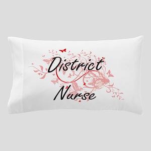 District Nurse Artistic Job Design wit Pillow Case
