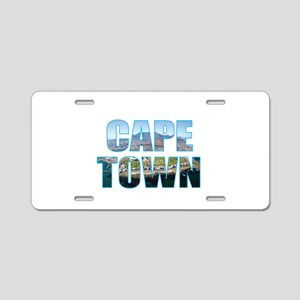 Cape Town Aluminum License Plate