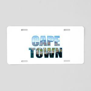Cape Town Aluminum License Plate