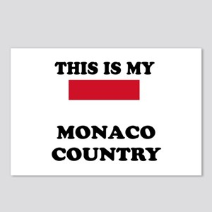 This Is My Monaco Country Postcards (Package of 8)