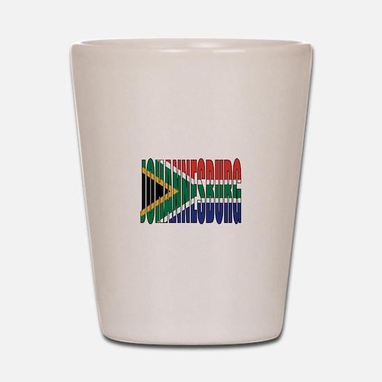 Johannesburg Shot Glass