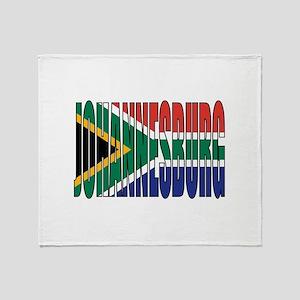 Johannesburg Throw Blanket