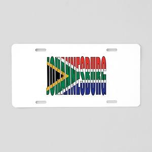 Johannesburg Aluminum License Plate