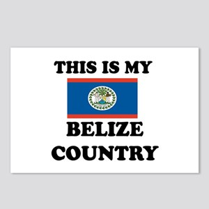 This Is My Belize Country Postcards (Package of 8)
