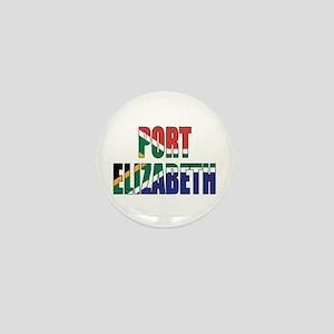 Port Elizabeth Mini Button