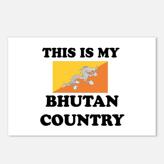 This Is My Bhutan Country Postcards (Package of 8)