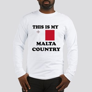 This Is My Malta Country Long Sleeve T-Shirt