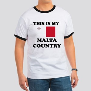 This Is My Malta Country Ringer T