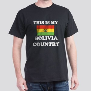 This Is My Bolivia Country Dark T-Shirt