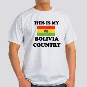 This Is My Bolivia Country Light T-Shirt