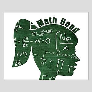 Math Head Small Poster