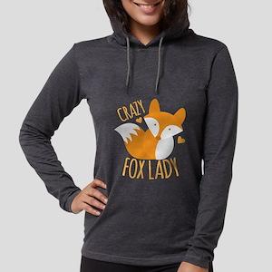 Crazy Fox Lady Long Sleeve T-Shirt