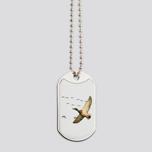 Mallard ducks Canadian geese Dog Tags