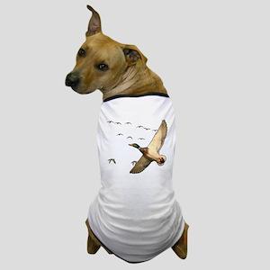 Mallard ducks Canadian geese Dog T-Shirt