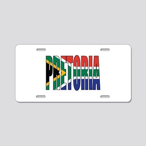 Pretoria Aluminum License Plate