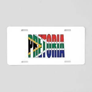 Pretoria Aluminum License Plate