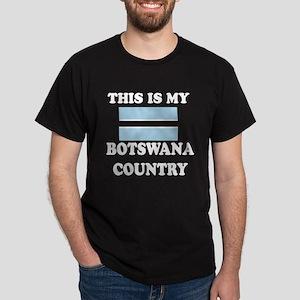 This Is My Botswana Country Dark T-Shirt