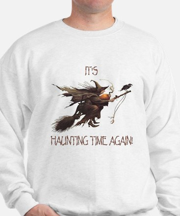 Witch haunting time Sweatshirt