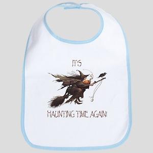 Witch haunting time Bib