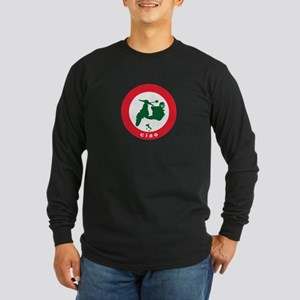 ciao Scooter Long Sleeve Dark T-Shirt