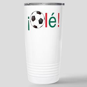 Ole - Mexican Football (Soccer) Chant Travel Mug