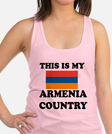 This Is My Armenia Country Racerback Tank Top